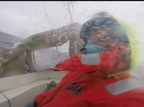 UVÆR: Værvarslinga så bra ut, men realiteten var ikke slik.