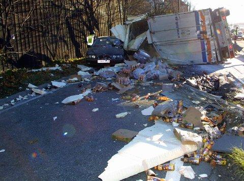 Arbeidsforhold: - Aktiv innsats mot sosial dumping og arbeidslivskriminalitet innen transportsektoren er helt avgjørende, skriver Sverre Myrli, om arbeidet for tryggere veger.Arkivfoto: Scanpix