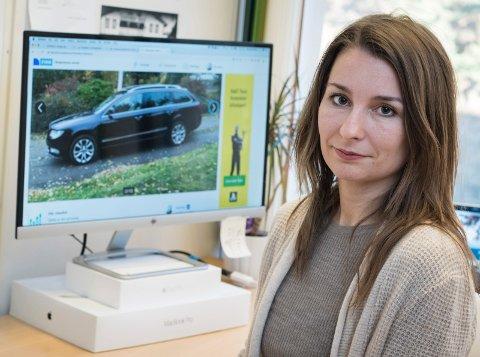 Svindel: Veronika Bazika (33) ble forsøkt svindlet i forbindelse med salg av familiebilen.