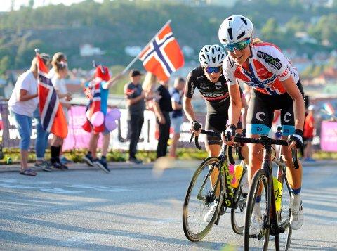 ALLE VIL TIL HALDEN: Samtlige World. Tour-lag kommer til Ladies Tour i 2020, og skal nok en gang få kjenne på Knardalsbakken på en av etappene.