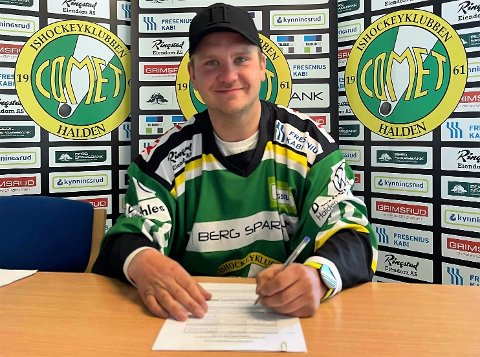 2 NYE ÅR: Tobias Skaarberg er grønn i minst to sesonger til.