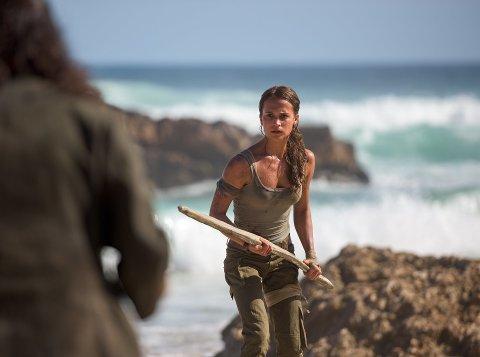 SPILL OG FILM: «Tomb Raider» er en av 43 filmer som vises på Hamarrama. Den får førpremiere i Hamar.