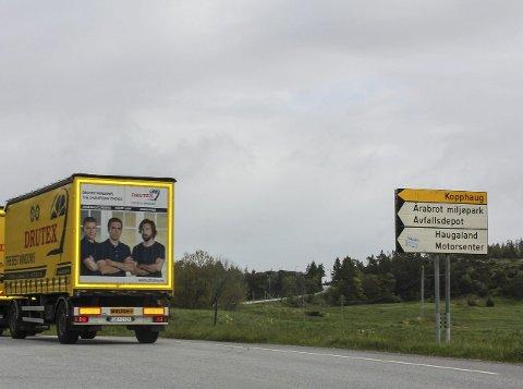 FAGERHEIM: Opprinnelig plan er bedre vei mellom Fagerheim (bildet) og Ekrene i Sveio. Cirka 6,5 kilometer er den strekningen. Det er bare råd en delstrekning. Sveio vil prioritere i nord og Haugesund i sør.