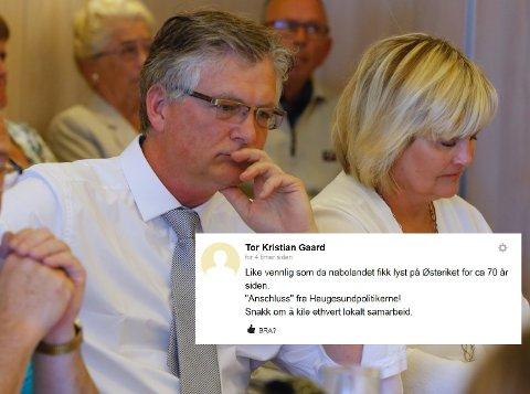 Beklager: Tor Kristian Gaard.
