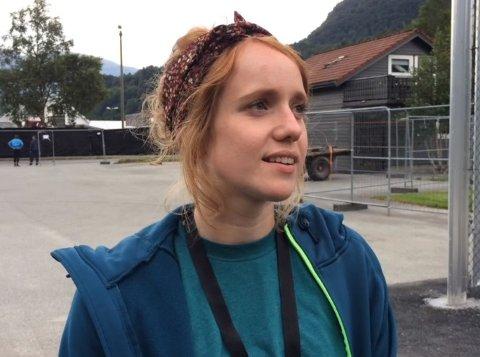 FESTIVALSJEF: Kristin Hafstad Stokka er fornøyd med 3.000 på Rootsen i helgen.
