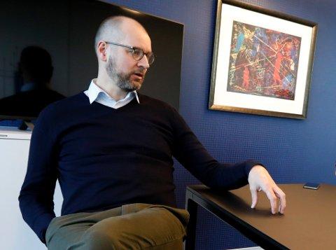 VOKSER: Administrerende direktør i Vigilo Øystein Viland forteller at det er stadig nye kommuner som ønsker å ta i bruk Vigilo i sine utdanningsinstitusjoner.