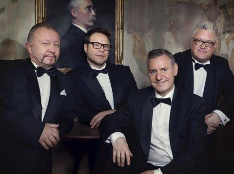 LØRDAGSJAZZ: The Real Thing kjører svingende souljazz på Høvleriet. Fredag besøker kvartetten Stord Jazzklubb.