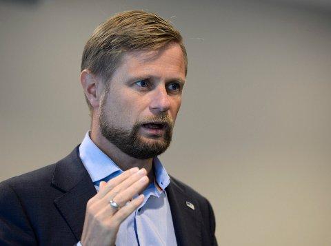 Helseminister Bent Høie på Ranabesøk. Bl.a. på Bakeribygget og Rana Sykehus.