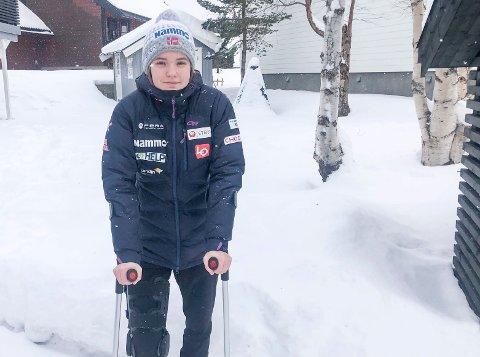AVBRUTT SESONG: Etter den avbrutte sesongen i verdenscupen har Eirin Maria Kvandal tjent 10.212 sveitsiske franc.