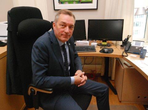 KAN RYKKE OPP: EU-minister Frank Bakke-Jensen kan bli tildelt ny ministerpost fredag.