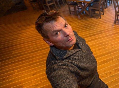 AVVISER: Trond Olav Olsen avviser at han har gravd ned noe avfall på tomter i Tappeluft. Dette bildet er tatt ved en tidligere anledning.