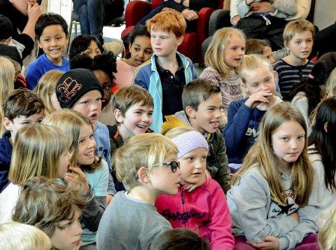 BIBLIOTEKET: De mange aktivitetene i Kragerø bibliotek, blant annet for barn, er med på å trekke Kragerø opp på indeksen.