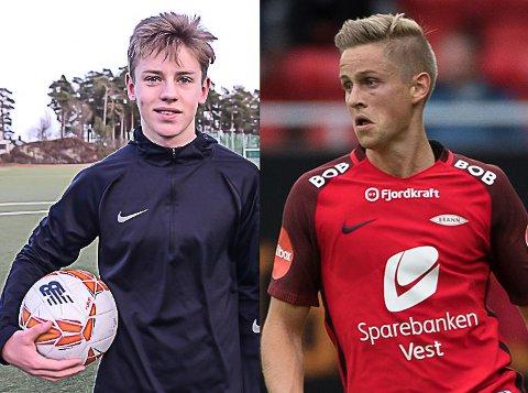 Hjem til jul: Filip Rønningen Jørgensen og Thomas Grøgaard ser fram til å feire jula hjemme.