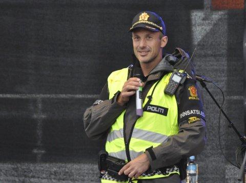 Skryt: Innsatsleder Stig Hagen hadde bare positive ting å si om arrangementet.