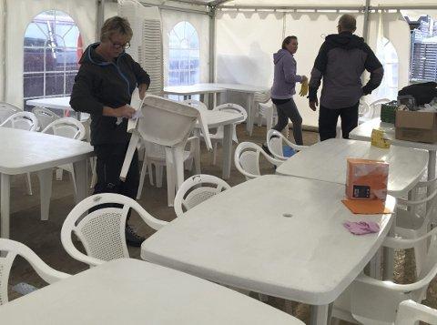 Forberedt: Komiteen på Laupstad er også i år godt forberedt foran de 19. Laupstaddagan.