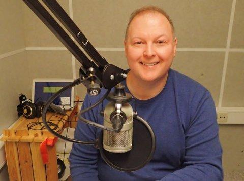 Daglig leder i Radio Bø, Ted Ivar Paulsen.