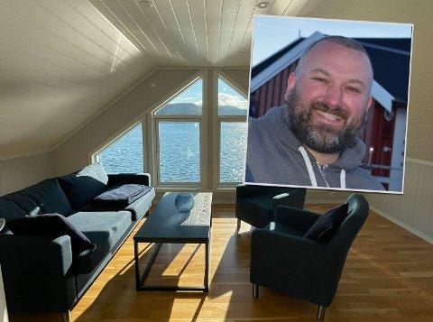 NY RORBU: Eirik Grønhaug og Lofoten Havfiske og Rorbuopplevelser AS investerer i ei ny rorbu på Skreda.