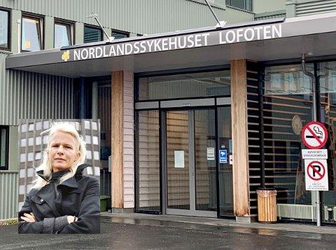 Randi Angelsen (innfelt) er kommunikasjonssjef ved Nordlandssykehuset, som sykehuset på Gravdal er en del av.