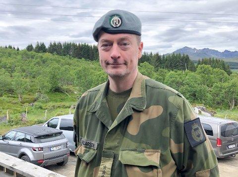 Områdesjef og kaptein Bjørn Ragnar Larsen.