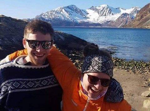 Ola Eliassen og Birgit Dahl trives i Steinfjorden.