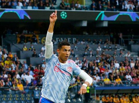 FRA START: Cristiano Ronaldo starter ikke overraskende på topp når Manchester United besøker West Ham.