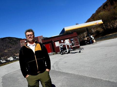 Erling Lid er daglig leder i Otta Lift som eier tomta ved E6.