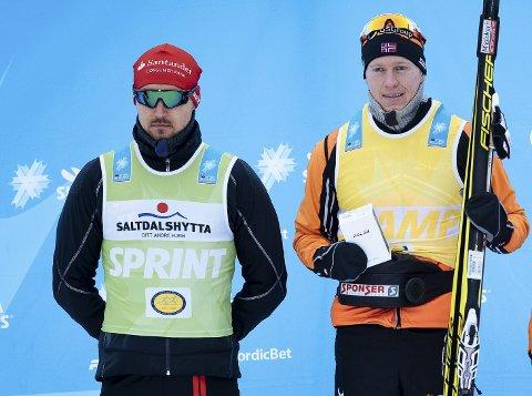 Andreas Nygaard kan sikre seg den grønne trøya sammenlagt i skiclassics-cupen søndag. Petter Eliassen er favoritt når Vasaloppet går av stabelen. Foto: Ski Classics