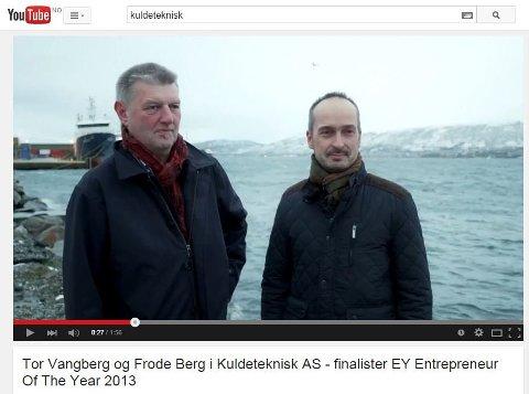 Tor Vangberg og Frode Berg i Kuldeteknisk as