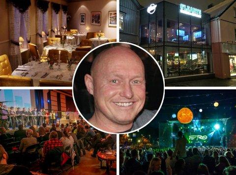 UTELIVSKONGE: Karl Henning F Svendsen, opprinnelig fra Brøstadbotn i Dyrøy, utvider sin restaurant og utelivsportefølje i Tromsø.