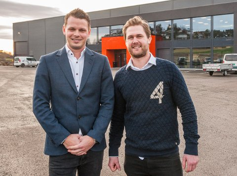 EIERE: Jørgen Lysnes (t.v.) eier 65 prosent av bedriften, mens Truls Bonnegolt eier de resterende 35.