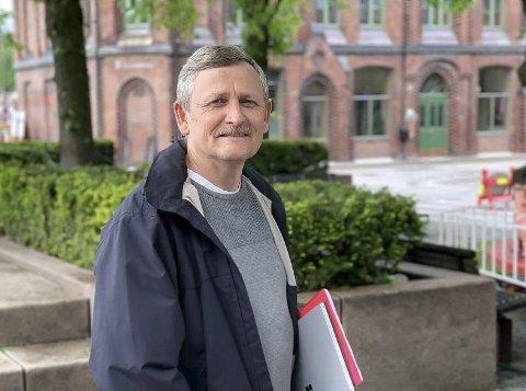MÅ LEIE: Lia sier Christensen & Co må inngå leieavtale med kommunen om utearealer.