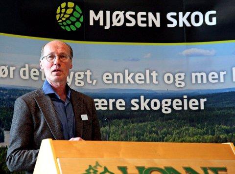 Nytt navn: Det nye skogselskapet i Innlandet vil hete Glommen Mjøsen Skog. Styreleder Terje Uggen har hatt en sentral roll i fusjoneringen.