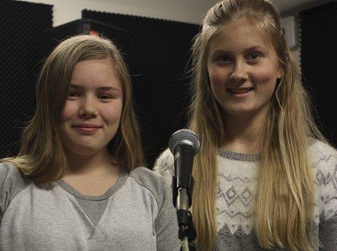 Sandra Nilsen og Lina Holm Hauglien.