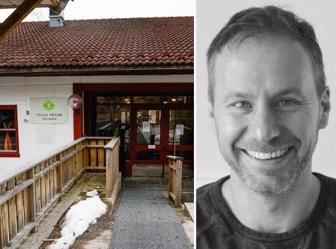 FIKK MEDHOLD: – Vi velger å fortsette med å ta inn kun friske pasienter framover. Dersom situasjonen endres eller forverres får i se ha vi skal gjøre for å avhjelpe kommunene, sier Richard Skaar Thorsrud, daglig leder i Villa Skaar.