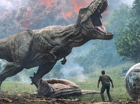 DINOSAURER: I år kommer det en ny Jurassic World- film; «Fallen Kingdom». foto: united international pictures