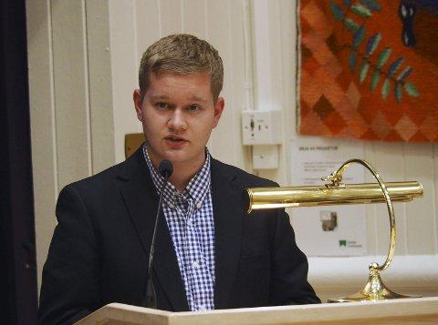 Vil ha fortgang: Andre Bråthen (Frp) vil forslå en økning i driftstilskudd til to fysioterapeuter fra 1. november. Arkivfoto
