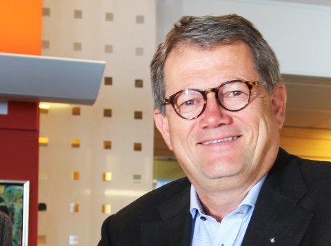 PÅ INNTEKTSTOPPEN: Blant lederne av de 20 største selskapene i Vestfold er det Morten Fon som ligger på inntektstoppen med 6,9 millioner kroner. Så leder han da også Vestfolds desidert største selskap, Jotun AS.