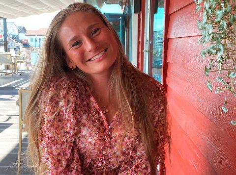VENDER HJEM: Etter cirka fem år i Oslo er Andrea Eikhaugen Kvammen (23) klar for å forlate hovedstaden til fordel for hjembyen Sandefjord.