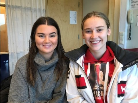 REPRESENTANTER: Iman Süslü (til venstre) og Cecilie Steen Sundby skal representere Askim i nasjonalsesjonen i september