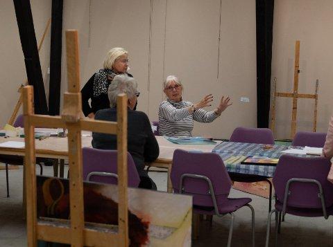 Medlemmene i Sola Atelier forbereder en stor jubileumsutstilling denne uken.