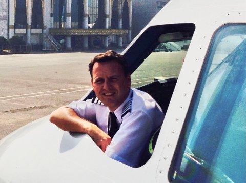 PILOT FLIGT ACADEMY: Colin Rydon er den nye dagliglederen for Pilot Flight Academy. Han har store admisjoner for selskapet og ser for seg internasjonale utvidelser.