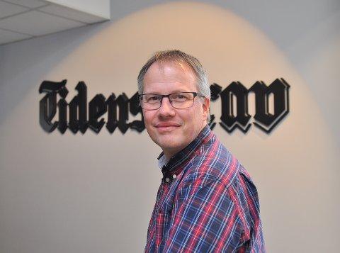 Sjefredaktør i Tidens Krav, Ole Knut Alnæs.
