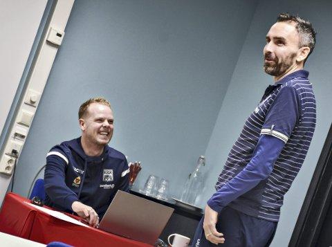 Skiller lag: Christian Michelsen (til venstre) og Joakim Klæboe har jobbet tett sammen de tre siste årene.