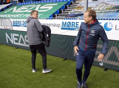 Møtes 16. mai: Erling Moe tar med seg Molde til Kristiansund 16. mai for å møte Christian Michelsen og KBK.