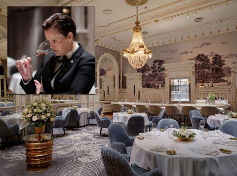 – Helt fantastisk, sier Ida Elisabeth Dønheim, restaurantdirektør ved Britannia Hotel, om at Speilsalen er kåret til Årets restaurant i Norge 2020.