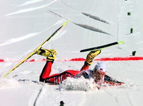 GODE MINNER: For 20 år siden ramlet Bjørn Dæhlie utslitt over målstreken og vant OL-femmila i Nagano. Blir det flere gylne øyeblikk i Pyeongchang?