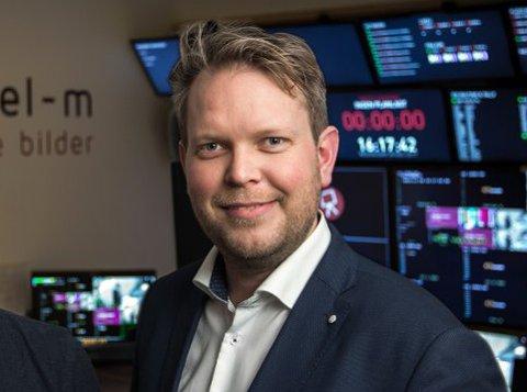 DØGNET RUNDT: Han vil vise minutt for minutt-sendinger døgnet rundt, Ole-Andreas Løvland.
