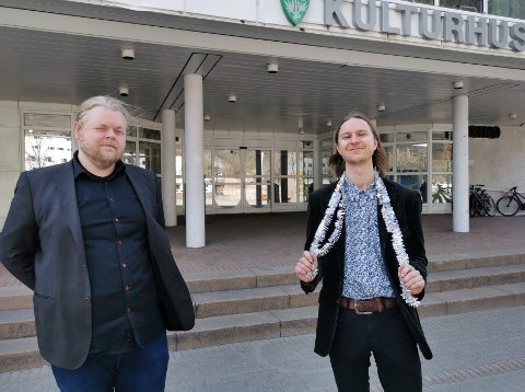 MGPjr-fest: Steinar Husby (t.v.) og Torgeir Brun.