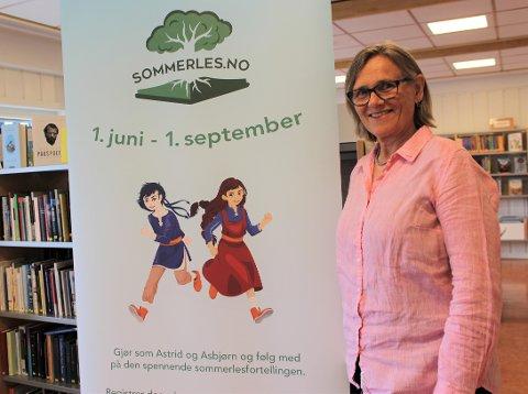 Lesekonkurranse: «Sommerles» varer fra 1. juni til 1. september.