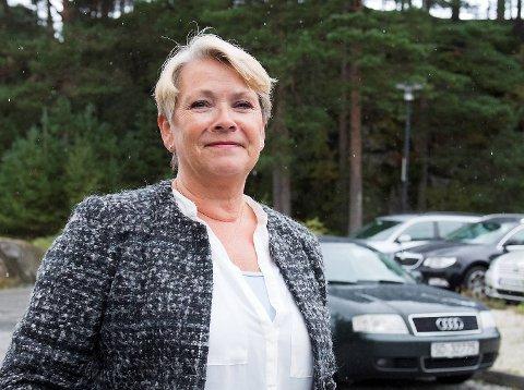 Byråd Hilde Onarheim, nytt sykehjem i Åsane.